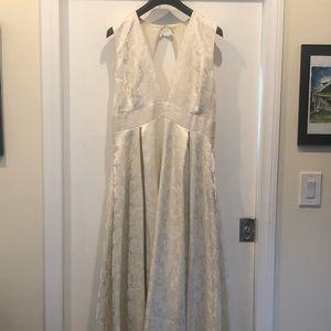 BHLDN Brocade Wedding Dress